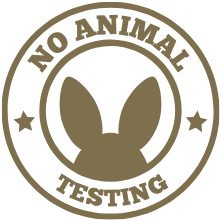 No animal testing on our hair growth products