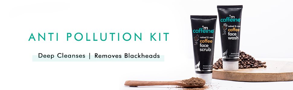 anti pollution kit deep cleanses blackheads removal