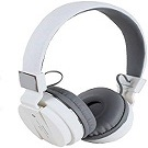 sh12 white color bluetooth headphone