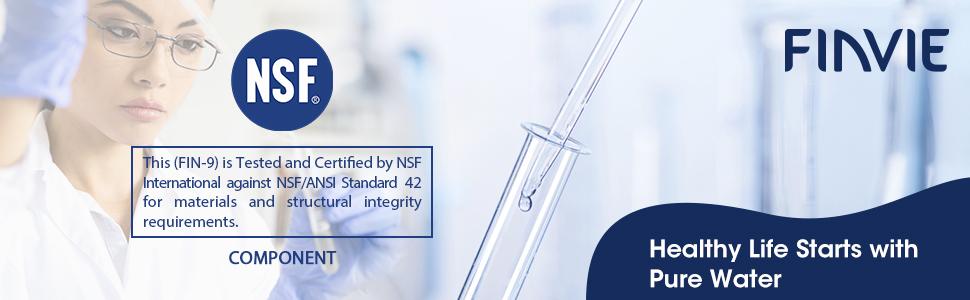 NSF 42 Certified
