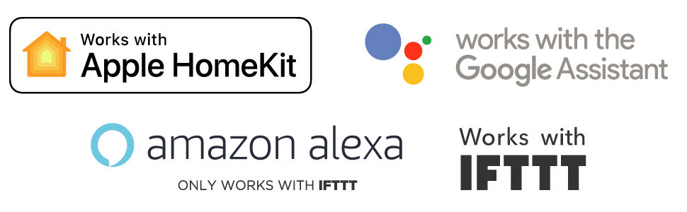 apple homekit google assistant amazon alexa ifttt