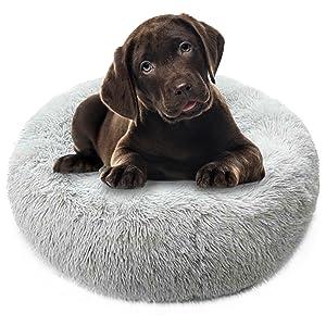 Wowcher Round Plush Pet Bed