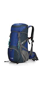登山リュック ザック 40l バックパック 大容量 レインカバン付き ハイキング 旅行バッグ 軽量 通気 多機能 男女兼用 アウトドア
