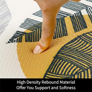 Thick Cushion anti fatigue kitchen rug standing desk mats