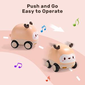 Push and Go Car Toys