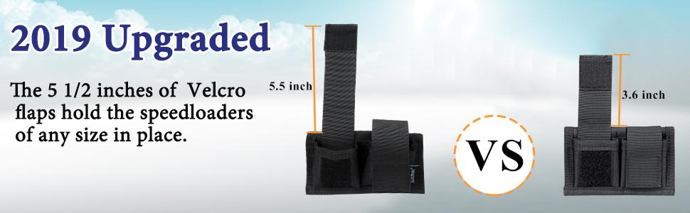 Universal Nylon Double Speed Belt Pouch Speedloader Carrier Case Bag