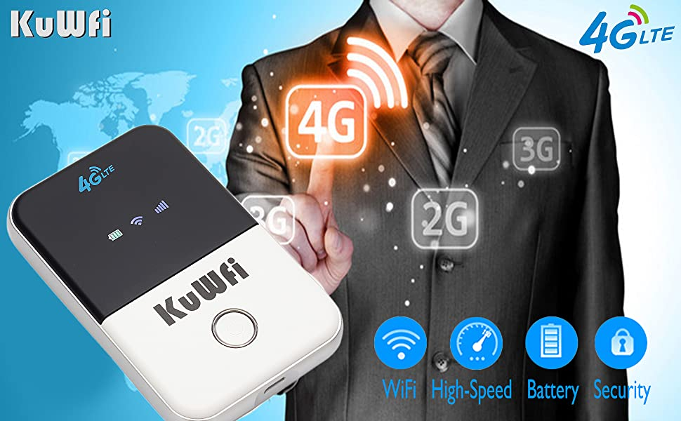 4g wifi router portable travel