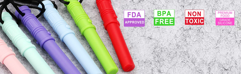 Silicone Sensory Chewing Toys 4