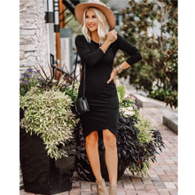 dress with long sleeves for women