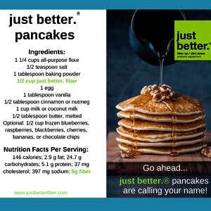 pancakes just better