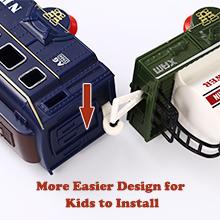 More easier design ofr kids to install