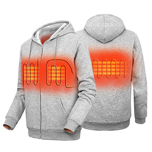 heated hoodies for men