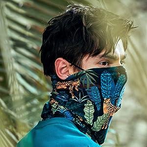 face mask bandana bandana for rave face mask dust wind uv sun