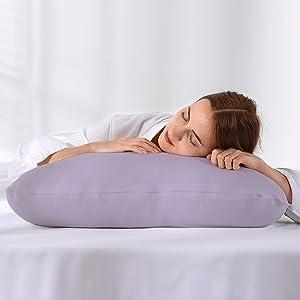 U Shape Gris almohada de lactancia con una funda de almohada lavable Jianyana Almohada de lactancia de cuerpo completo para embarazo 100/% algod/ón algod/ón