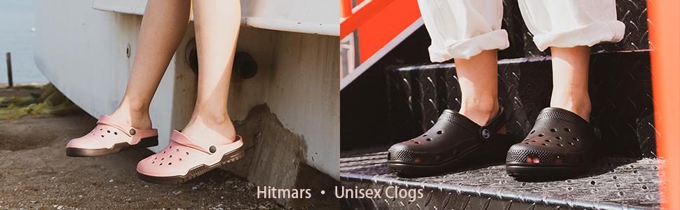 Womens Clogs Lightweight Garden Shoes for Men Summer Slippers Unisex