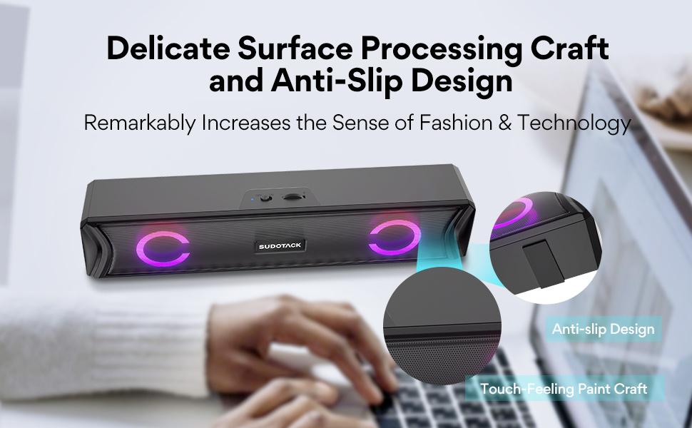 anti-slip design