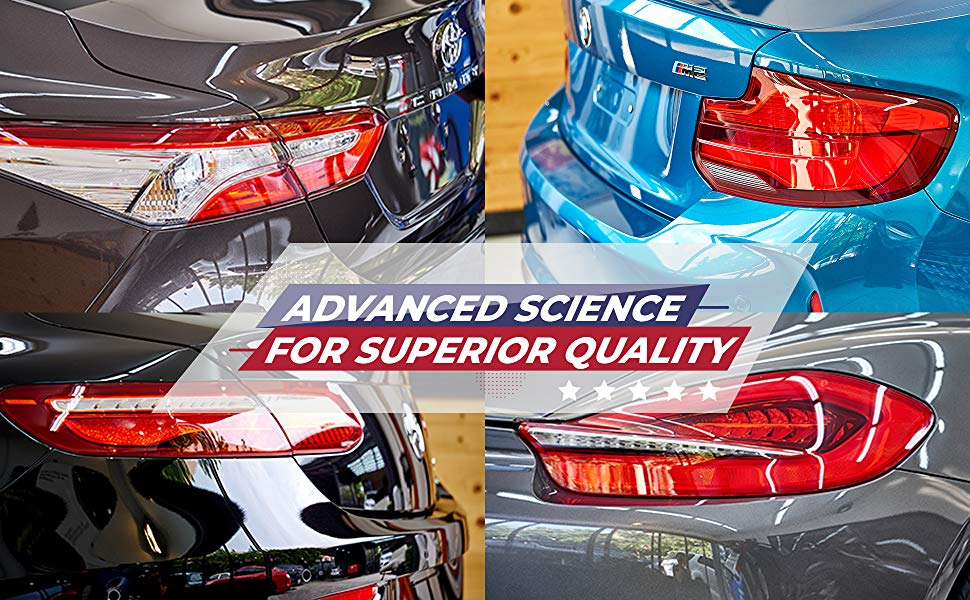 Autoamerics Car Wax Hybrid Spray carnauba clear chemical quick detailing detailer colored paints