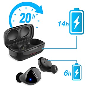 iLuv TB100 True Wireless Bluetooth Earbuds Headphones Ergonomic Waterproof IPX6