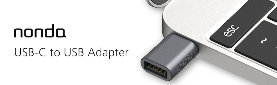 USB C to USB Adapter(2 Pack)