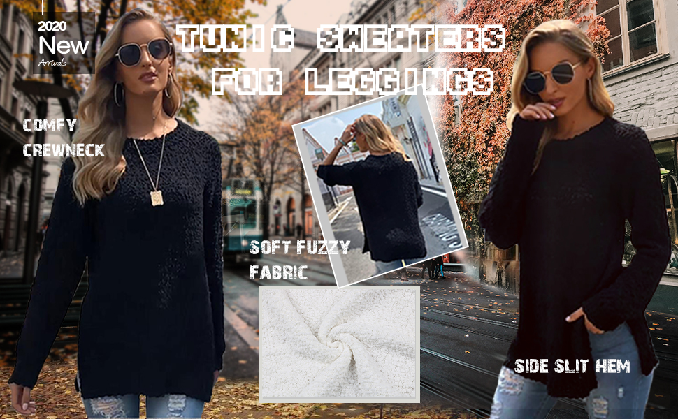 tunic sweaters for women