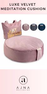 Luxe Velvet Meditation Cushion