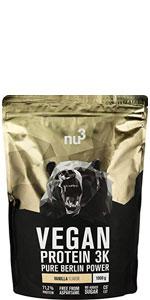 nu3 Galleta de proteína | 12 x 75g | Delicioso sabor ...