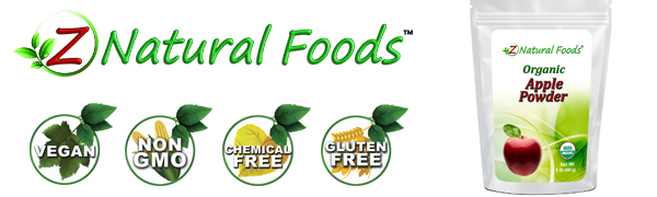 z natural foods powdered apple