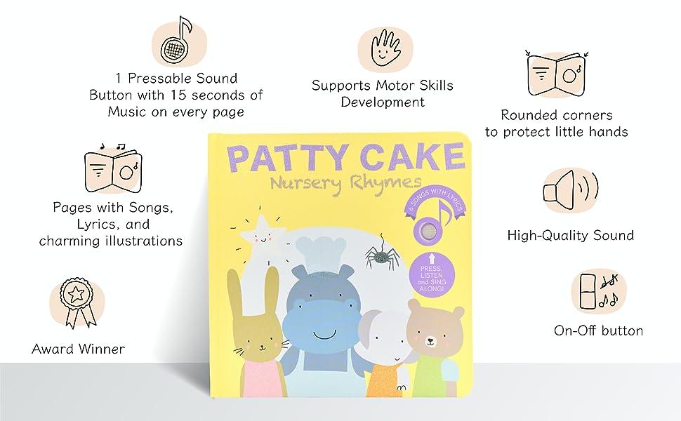 PATTY CAKE NURSERY RHYMES