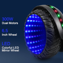 Flash Hoverboard with all-terrain tire