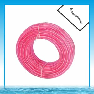 Water Pipe Garden Hose Water Pipe, Car Wash Water Pipe, PVC Pipe - 0.5 inch/ 20 Meter Long with Hose