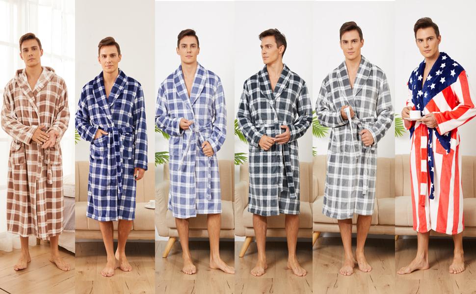 lightweight robe for men