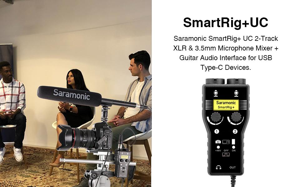 saramonic sound mixer adapter