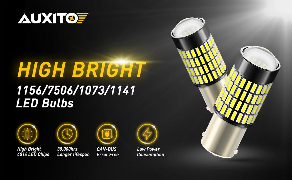 1156 7506 backup reverse light led bulbs