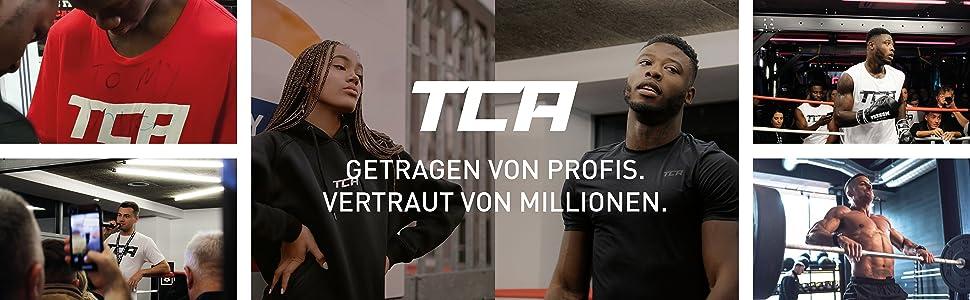 Kapuze /& Rei/ßverschluss TCA Energy Damen Laufshirt mit Kragen