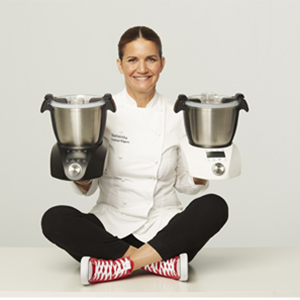 IKOHS CHEFBOT Compact STEAMPRO - Robot de Cocina Multifunción, Cocina al Vapor, 23 Funciones, 10 Velocidades con Turbo, Bol Acero Inoxidable 2, 3 L, Libre BPA (con Vaporera y Recetario - Negro): Amazon.es