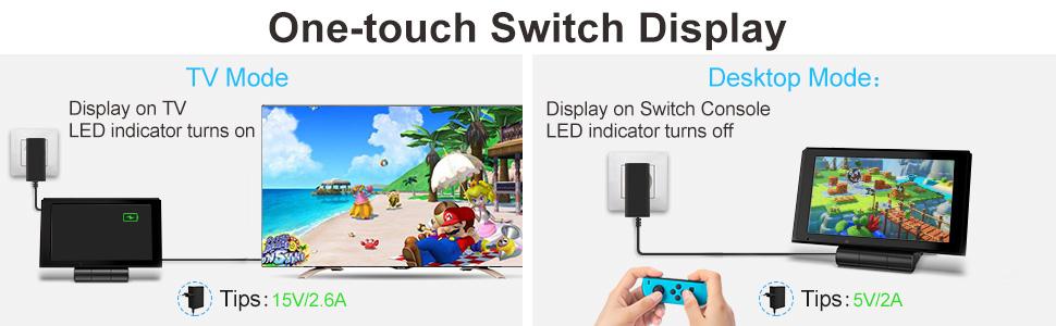dock switch