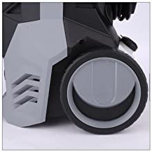 rolling wheel electric pressure washer