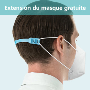 Extension de masque fourni