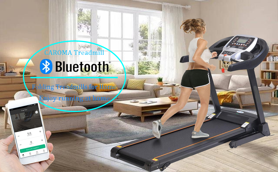 CAROMA Running Machine Treadmill with Incline