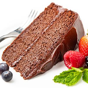 keto chocolate cake made with wholesome yum almond flour