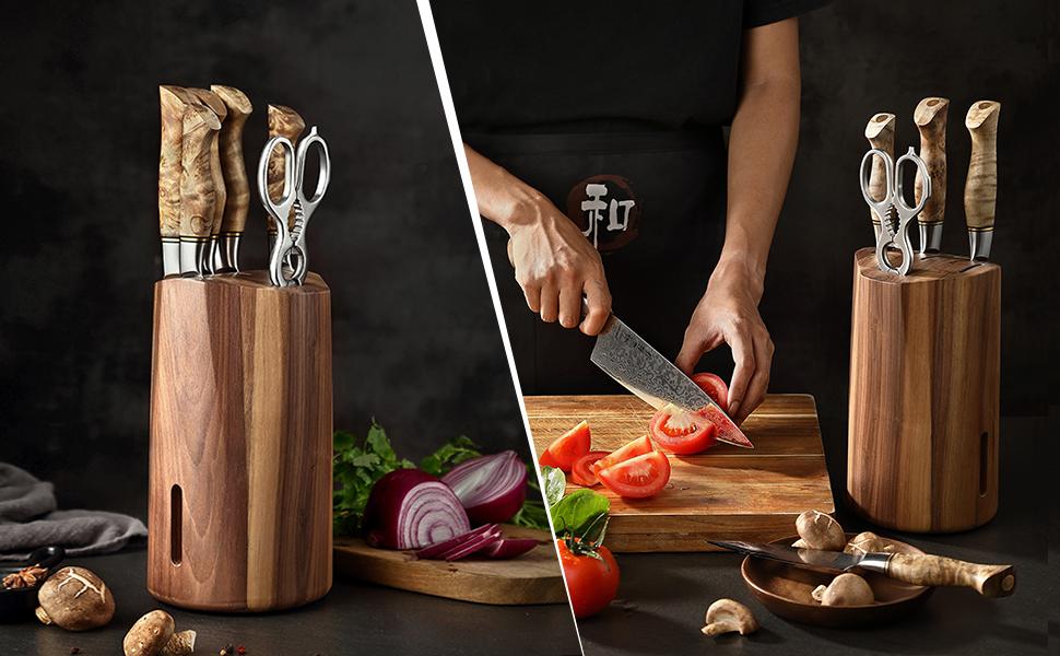 Couteau de cuisine Damas