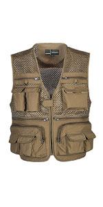 Outdoor Work Fishing Travel Photo Vest