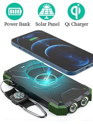 reserva de energía solar banco de energía solar portátil batería solar portátil banco de energía solar cargador