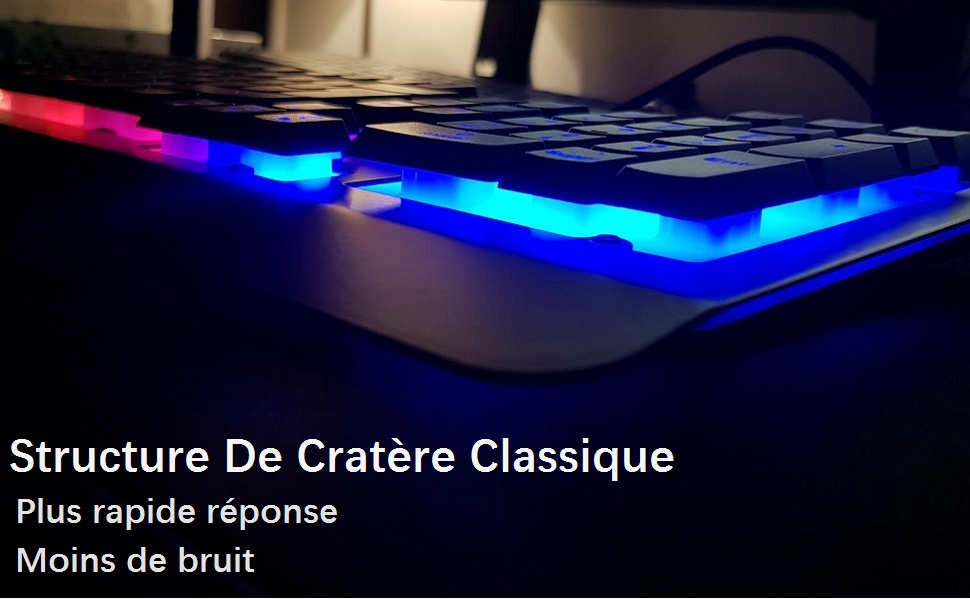clavier gaming rgb