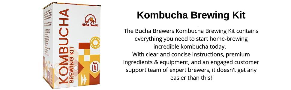 Kombucha Starter Kit Bucha Brewers