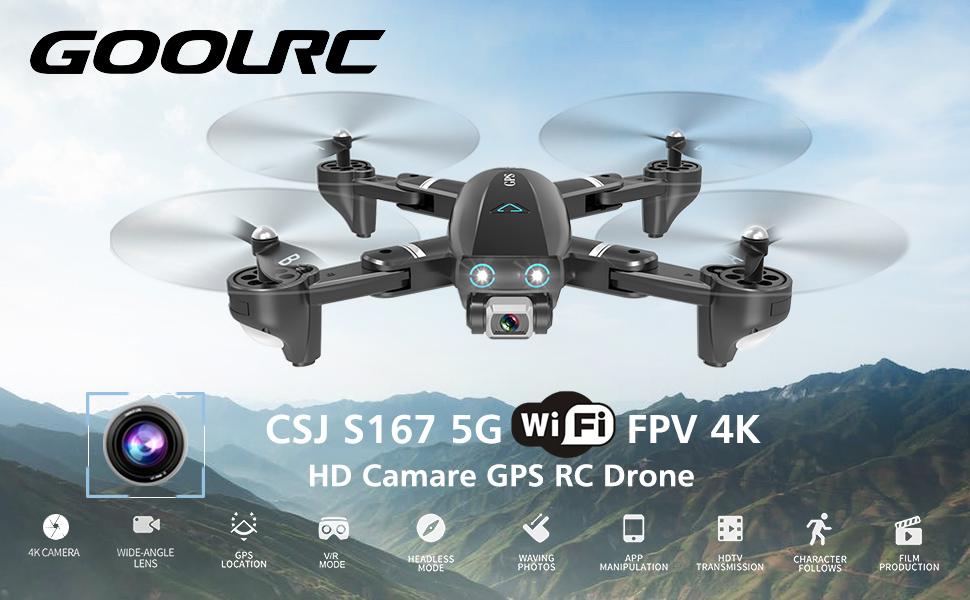 CSJ S167 GPS Drone