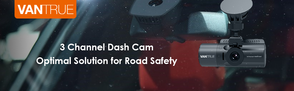 3 channel dash cam