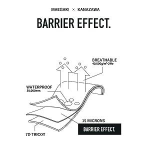 F/ACSION BARRIER EFFECT.