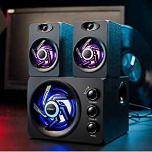 209 black gaming speaker