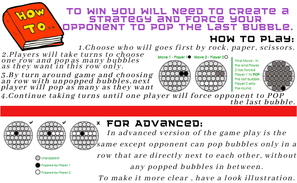 push pop bubble sensory fidget toy special needs